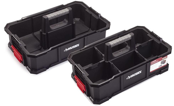 Husky Stacking Caddy 2-Pack