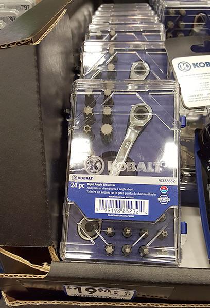 Kobalt 24pc Bit Driver Set