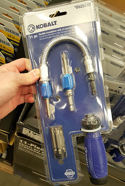 Kobalt Flexible Shaft Screwdriver Lowes Holiday 2015