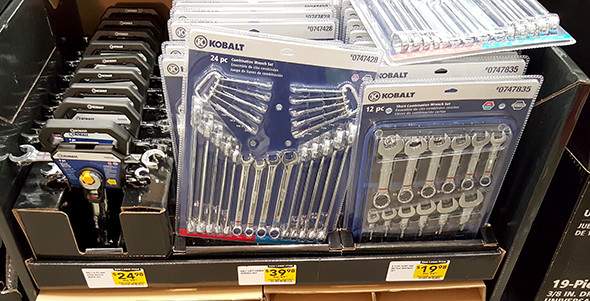 Kobalt Ratcheting and Combination Wrench Sets Lowes Holiday 2015