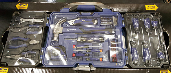 Kobalt Tri-Fold 69pc Tool Set Lowes Holiday 2015