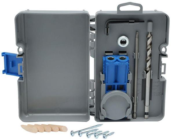 Kreg r3 pocket hole jig with bonus clamp bundle kreg r3 pocket hole jig contents solutioingenieria Images