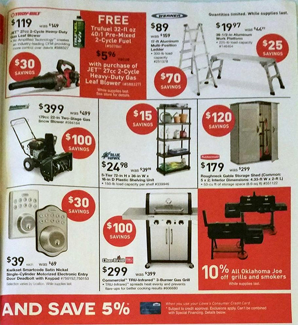 Lowes Black Friday 2015 Tool Deals Page 10