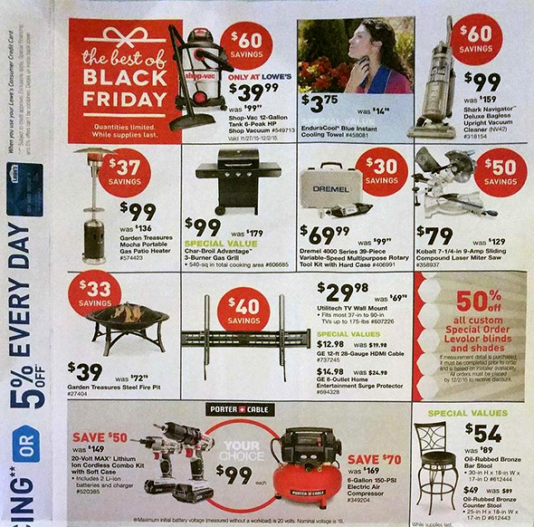 Lowes Black Friday 2015 Tool Deals Page 11