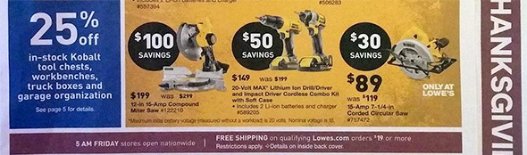 Lowes Black Friday 2015 Tool Deals Page 2