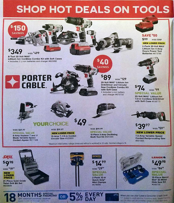 lowes black friday 2015 tool deals page 4