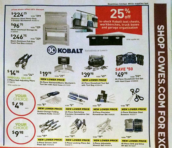 Lowes Black Friday 2015 Tool Deals Page 5