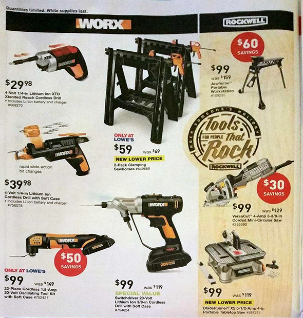 Lowes Black Friday 2015 Tool Deals Page 7