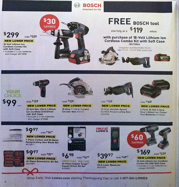 Lowes Black Friday 2015 Tool Deals Page 8