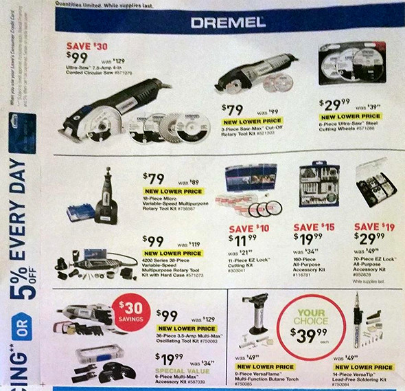 Lowes Black Friday 2015 Tool Deals Page 9