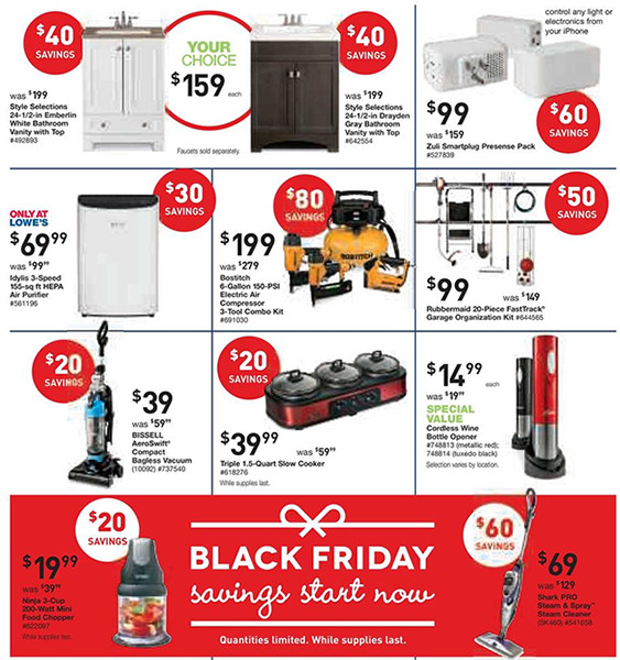 Lowes Black Friday Pre-Sale Page 7