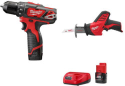Milwaukee M12 Drill/Driver + Hackzall Kit for $99 ($94 after coupon!)
