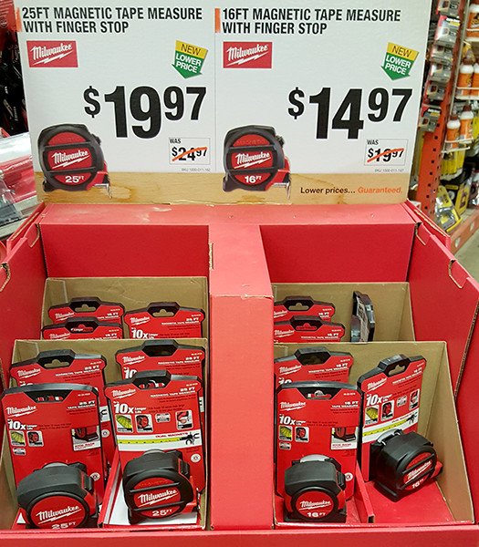 milwaukee magnetic tape measure bundles home depot holiday 2015 - Home Depot Holiday