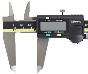 "PITTSBURGH 6/"" DIGITAL CALIPER METRIC SAE ADJUST ELECTRONIC MEASURE INNER OUTER"