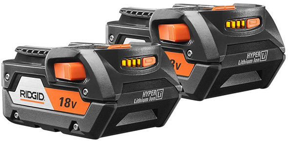 Ridgid 18V Battery Pack 2-Pack