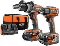 Hot Deal: Ridgid 18V Brushless Hammer Drill & Impact Driver + Something Else for $100 Off