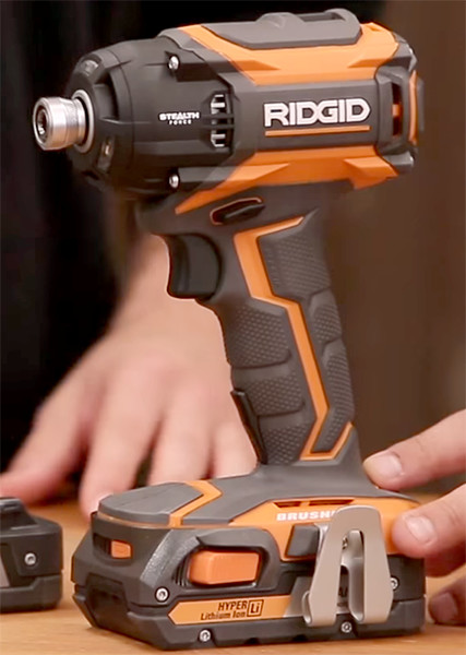 Ridgid 18V Stealth Forec Brushless Pulse Driver