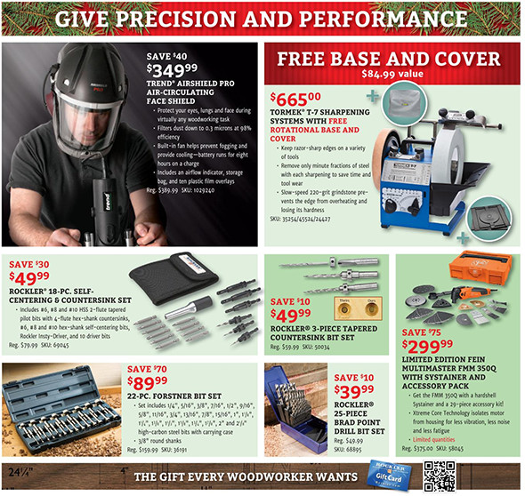 Rockler Black Friday 2015 Tool Deals Page 12