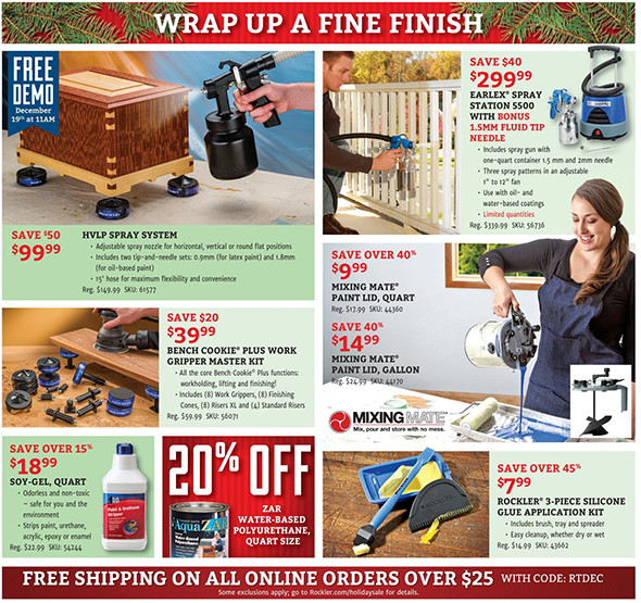 Rockler Black Friday 2015 Tool Deals Page 7