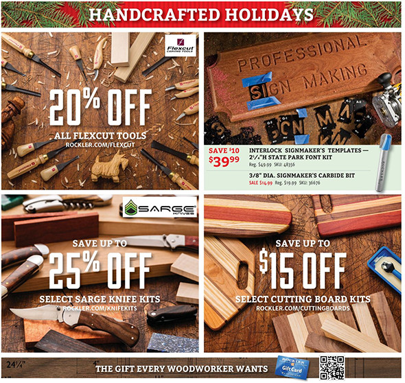 Rockler Black Friday 2015 Tool Deals Page 8
