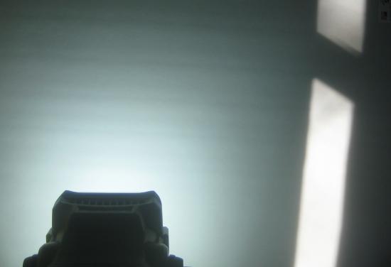 Ryobi Light vs Sunlight
