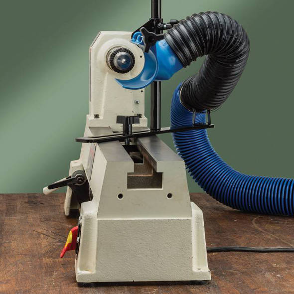 New Rockler Dust Right Lathe Dust Collection System