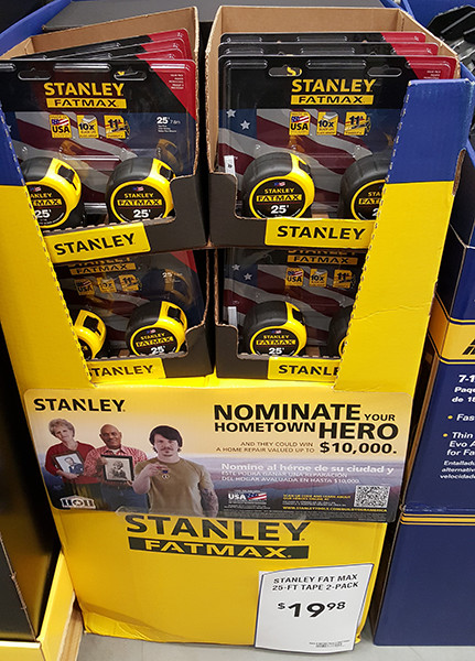 Stanley FatMax Tape Measure Bundle Lowes Holiday 2015