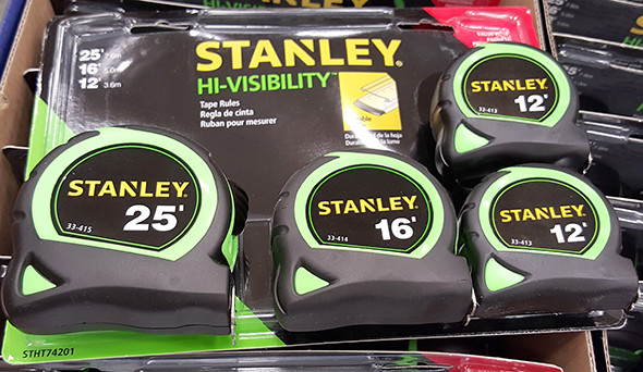 Stanley Hi-Vis Tape Measures Lowes Holiday 2015