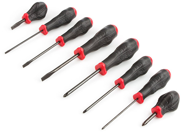 Tekton 8pc USA-Made Screwdriver Set