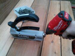 Hands On: Camo Hidden Deck Fastening System