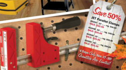 Jet Parallel Clamp Sale, Black Friday 2015