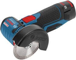 New Bosch 12V Max Cordless Brushless Angle Grinder is Teeny Tiny!