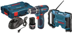 Deal: Bosch 12V Max Drill Kit Plus L-Boxx and Radio Bundle, for $100