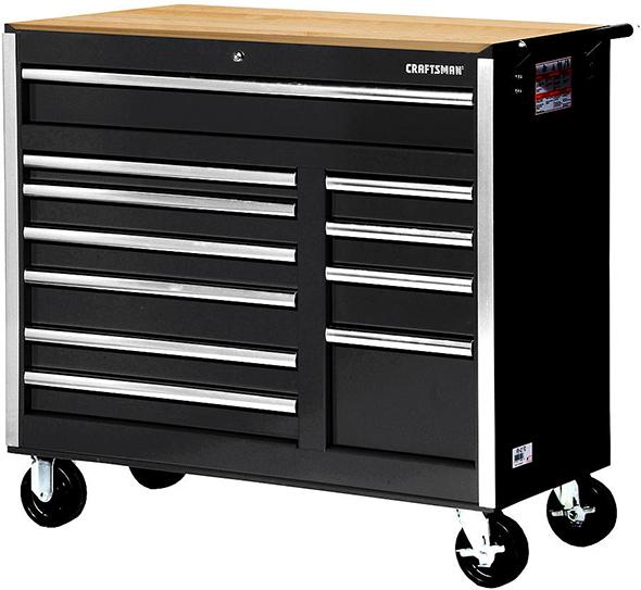 Craftsman 42-inch 11-drawer ball bearing roller cabinet