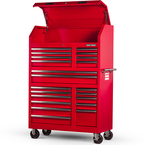 Craftsman 42inch 20 Drawer Tool Storage Unit Red