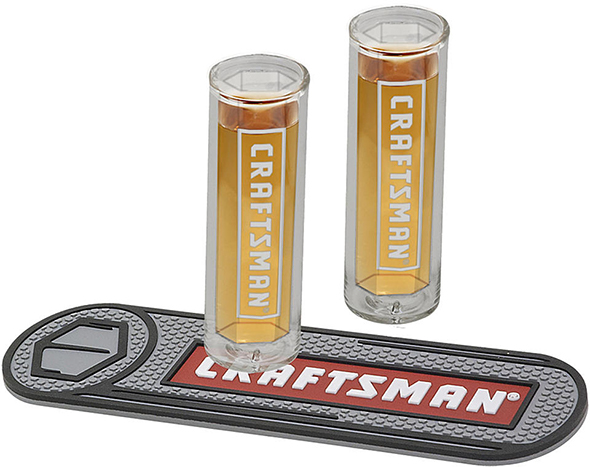Craftsman Socket Shot Glass Set
