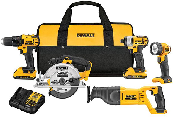 Dewalt DCK520D2 Cordles Power Tool Combo Kit