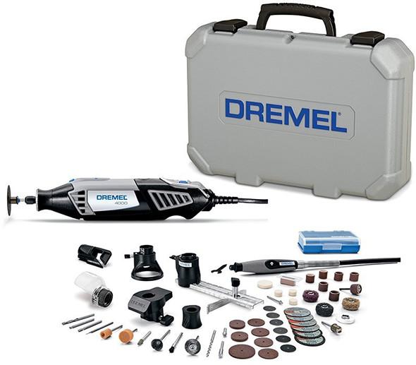 Dremel 4000 Rotary Tool 50 Accessory Kit