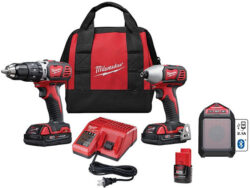 Deal of the Day: Milwaukee M18 Hammer Drill and Impact Driver Combo + M12 Speaker Kit