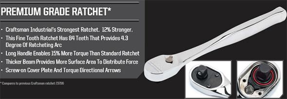 Craftsman Industrial Premium Grade Ratchet