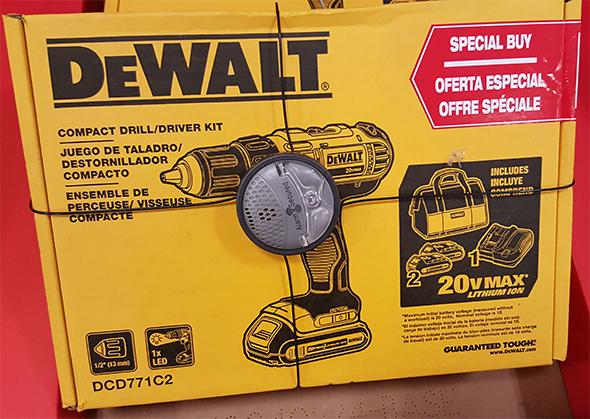 Dewalt 20V Max Cordless Drill Kit