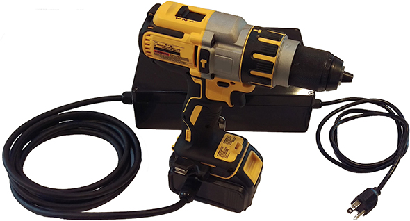 Los Gatos Dewalt 20V Max Corded Power Adapter with Drill
