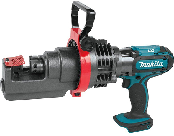 New Makita Cordless Rebar Cutter