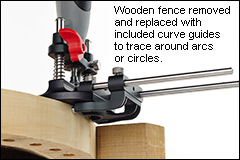 Veritas rotary tool roter base fence