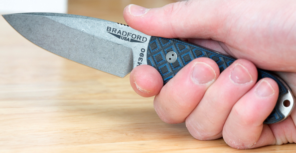 Bradford Guardian3 Fixed Blade Knife Grip