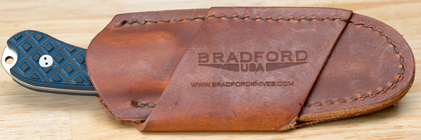 Bradford Guardian3 Fixed Blade Knife in Leather Sheath