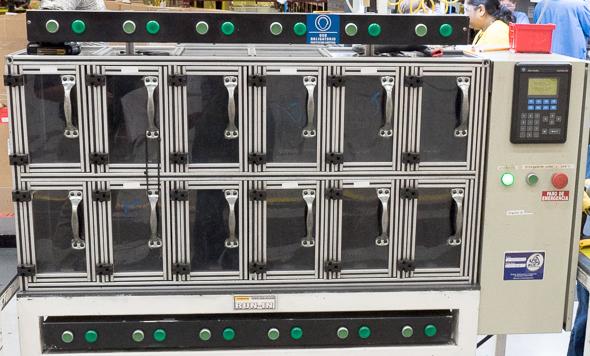 Dewalt 20V Max Impact Driver Testing Cabinet