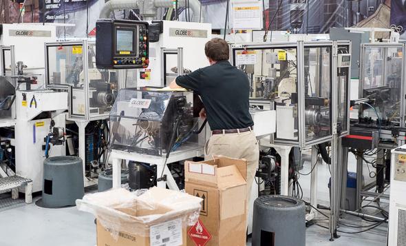 Dewalt USA Motor Manufacturing Equipment