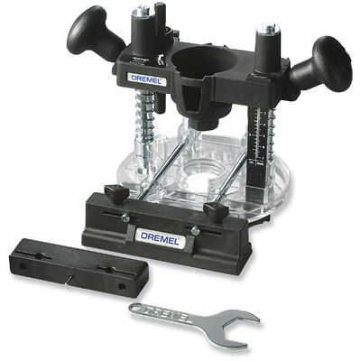 Rotary Tool Router Base Attachments