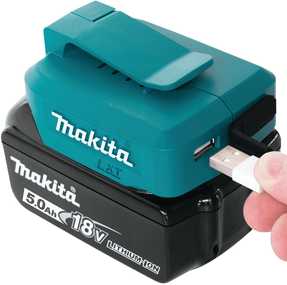 New Makita 18v Power Source Has 2 Independent High Power Usb Ports